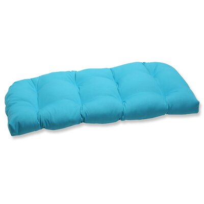 Pillow Perfect Veranda Wicker Loveseat Cushion at Sears.com