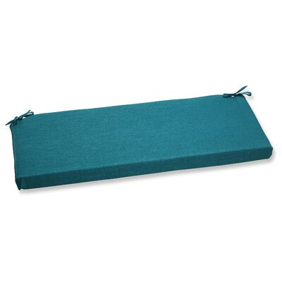Rave Outdoor Bench Cushion Fabric: Teal