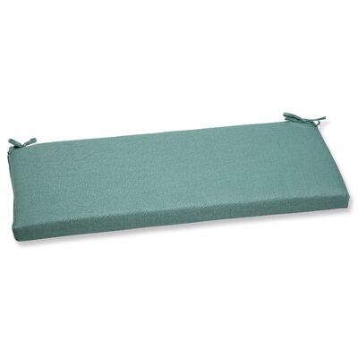 Rave Outdoor Bench Cushion Fabric: Surf