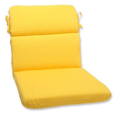 Fresco Outdoor Lounge Chair Cushion Fabric: Yellow