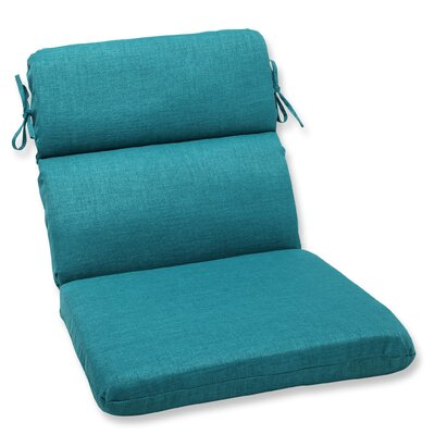 Rave Outdoor Lounge Chair Cushion Fabric: Teal