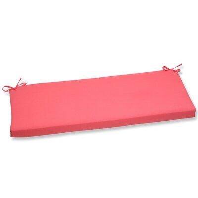 Fresco Outdoor Bench Cushion Fabric: Melon