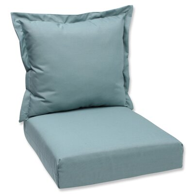 Outdoor Lounge Chair Cushions Fabric: Spa Blue