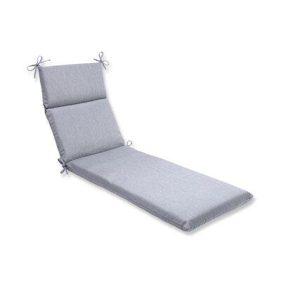 Outdoor Sunbrella Chaise Lounge Cushion Fabric: Grey