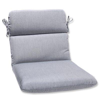 Outdoor Sunbrella Lounge Chair Cushion Fabric: Grey