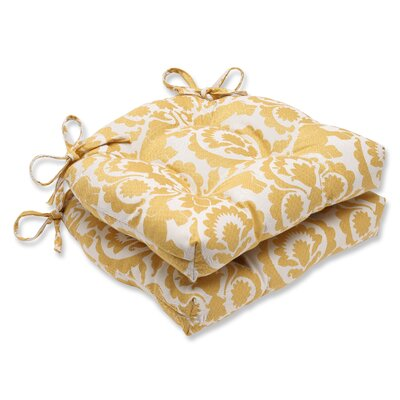 Pillow Perfect Reversible Chair Pad (Set of 2) - Fabric: Babar Topaz at Sears.com