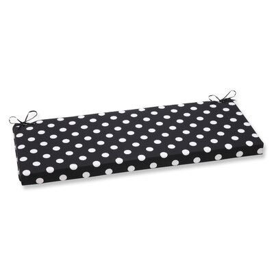Outdoor Bench Cushion Color: Black