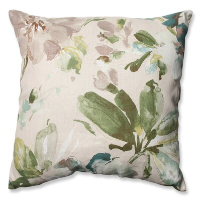 Paint Palette Mist Cotton Throw Pillow
