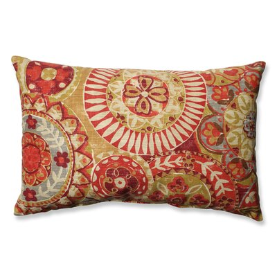 Colyn Cardinal Cotton Lumbar Pillow