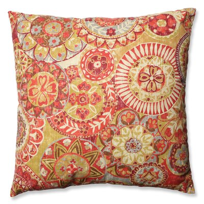 Colyn Cardinal Cotton Floor Pillow