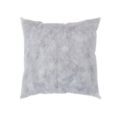 Non-Woven Pillow Insert Size: 18 H x 18 W x 5 D