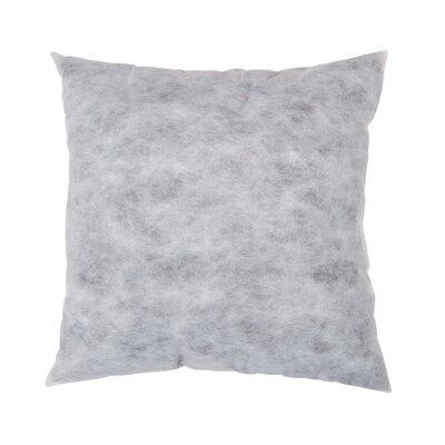Non-Woven Pillow Insert Size: 22 H x 22 W x 5 D