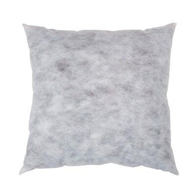 Non-Woven Pillow Insert Size: 27 H x 27 W x 5 D