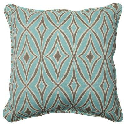 Centro Indoor/Outdoor Throw Pillow Fabric: Mist
