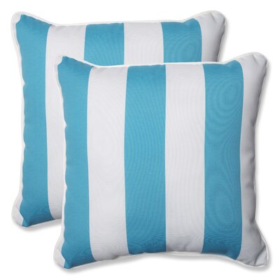 Cabana Stripe Indoor/Outdoor Throw Pillow