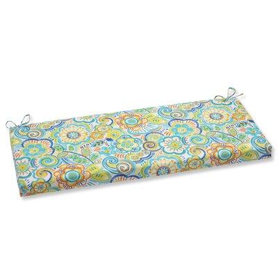 Kilroy Outdoor Bench Cushion Fabric: Caribbean