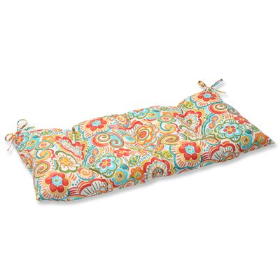 Kilroy Outdoor Loveseat Cushion Fabric: Carnival
