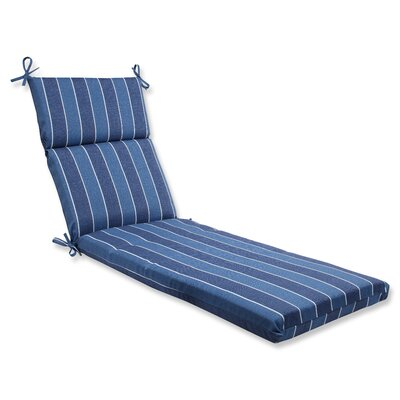 Wickenburg Outdoor Chaise Lounge Cushion Fabric: Indigo