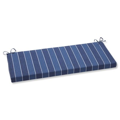 Wickenburg Outdoor Bench Cushion Fabric: Indigo