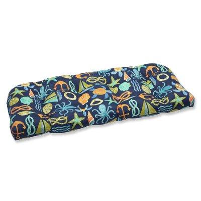 Seapoint Outdoor Loveseat Cushion Fabric: Neptune
