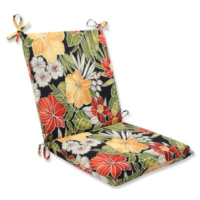 Clemens Noir Outdoor Lounge Chair Cushion
