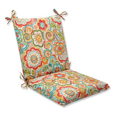 Kilroy Outdoor Lounge Chair Cushion Fabric: Carnival