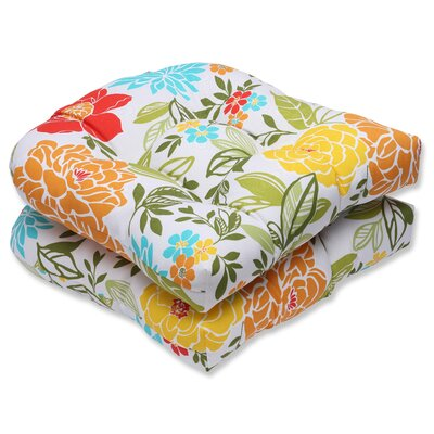 Spring Bling Outdoor Dining Chair Cushion
