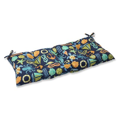 Seapoint Outdoor Loveseat Cushion Fabric: Neptune