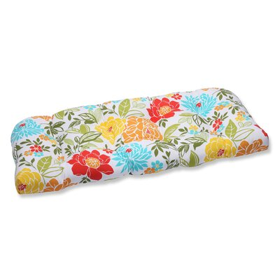 Spring Bling Outdoor Loveseat Cushion