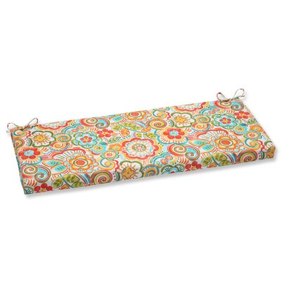 Bronwood Outdoor Bench Cushion Fabric: Carnival