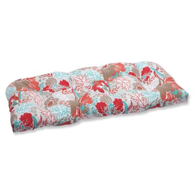 Suzanne Outdoor Loveseat Cushion Fabric: Spring