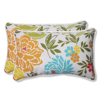 Spring Bling Indoor/Outdoor Lumbar Pillow Size: 11.5 H x 18.5 W x 5 D