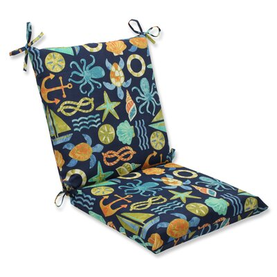 Seapoint Outdoor Lounge Chair Cushion Fabric: Neptune