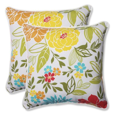 Spring Bling Indoor/Outdoor Throw Pillow