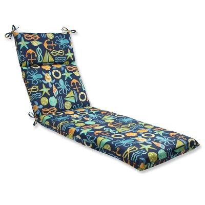 Seapoint Outdoor Chaise Lounge Cushion Fabric: Neptune