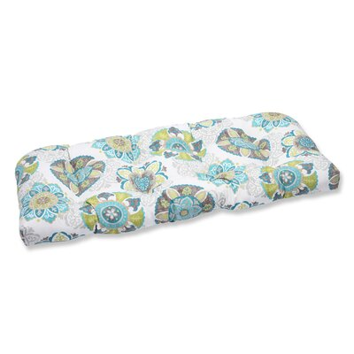 Saxon Weather Resistant Outdoor Loveseat Cushion