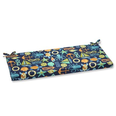 Seapoint Outdoor Bench Cushion Fabric: Neptune