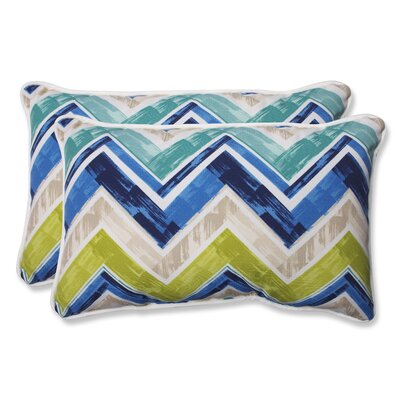 Marquesa Marine Indoor/Outdoor Lumbar Pillow Size: 11.5 H x 18.5 W x 5 D