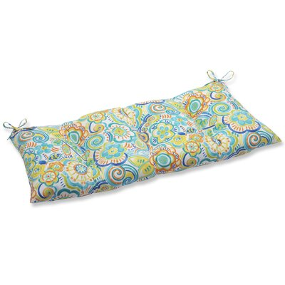 Kilroy Outdoor Loveseat Cushion Fabric: Caribbean