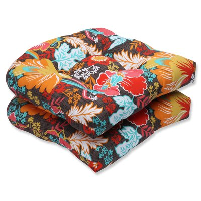 Suzanne Outdoor Dining Chair Cushion Fabric: Miami
