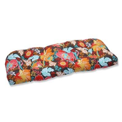 Suzanne Outdoor Loveseat Cushion Fabric: Miami