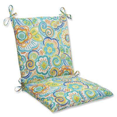 Kilroy Outdoor Lounge Chair Cushion Fabric: Caribbean