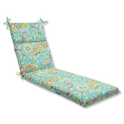 Kilroy Outdoor Chaise Lounge Cushion Fabric: Caribbean