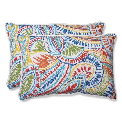 Toshia Indoor/Outdoor Lumbar Pillow Size: 16.5 H x 24.5 W x 5 D