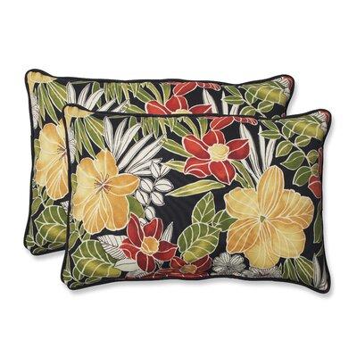 Clemens Noir Indoor/Outdoor Lumbar Pillow Size: 16.5