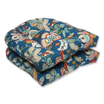 Telfair Peacock Outdoor Dining Chair Cushion