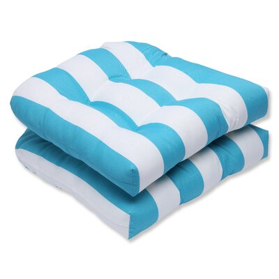 Cabana Stripe Outdoor Dining Chair Cushion