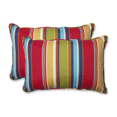 Westport Garden Indoor/Outdoor Lumbar Pillow Size: 16.5 H x 24.5 W x 5 D