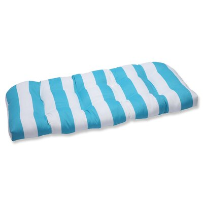Cabana Stripe Outdoor Loveseat Cushion