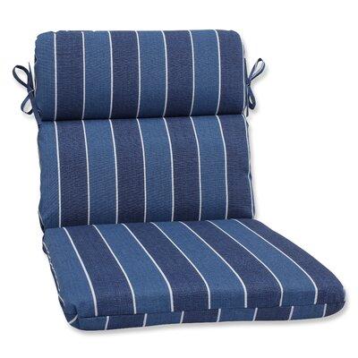 Wickenburg Outdoor Chaise Lounge Cushion Fabric: Indigo